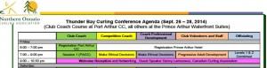 Conference Agenda snipit