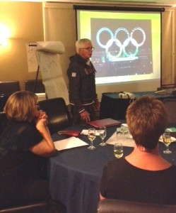 Tom Coulterman's Olympic Presentation